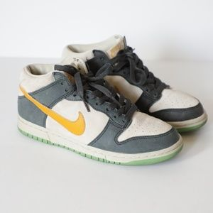 Nike Dunk Low Air Imara Suede Green/Yellow 7.5W
